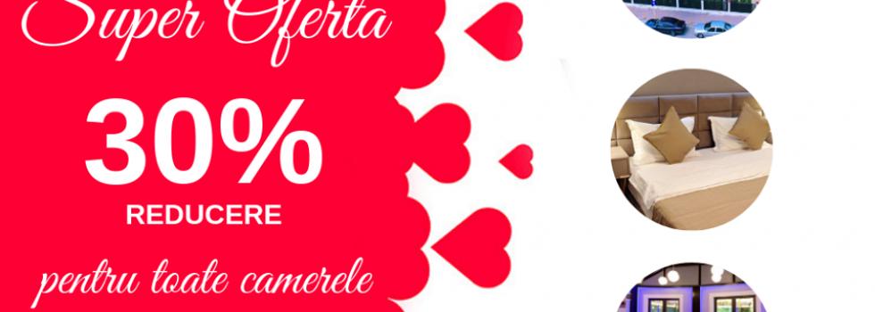30% reducere la toate camerele de la Hotel Roberto Slanic
